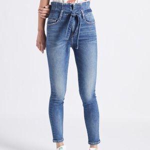 Denim - Current Elliott Corset Stiletto Jeans
